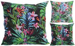 Vankúš palmy s kvetmi / 492887