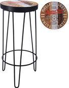 Barová stolička retro