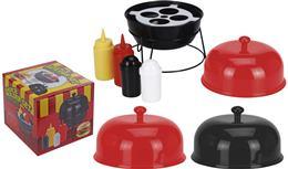 Barbecue BBQ set s ochucovadlami