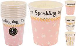 Sada papierových pohárov
