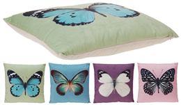 Vankúš vzor motýľ, 4 druhy / 640739