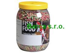 Krmivo - 3farebné tyčinky 3000 ml / 144284