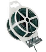 Viazací drôt potiahnutý plastom zelený 50 m