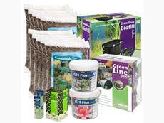 Štartovací balík pre jazierko do 10m3 s veľa rastlinami