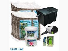 Štartovací balík pre jazierko do 20m3 s veľa rybami