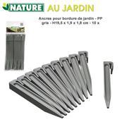 Kotviaci kolík pre obrubník sivý / 6040630