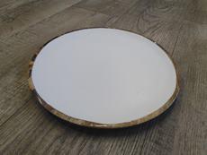 Tanier drevený s bielym vnútrom