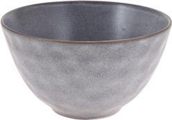 Miska kameninová šedá veľká