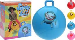 Skákacia lopta pre deti s držiakom / CR 237042