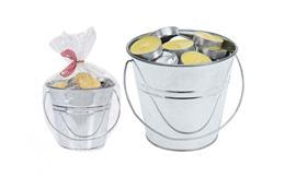 Čajové sviečky v kýbliku Citronella, set 50 ks