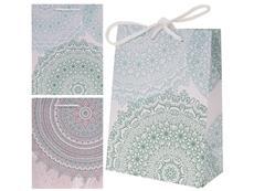 Darčeková taška, mandala