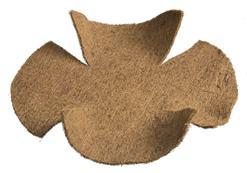 Kokosová výplň hladká pre závesné koš / 6070170