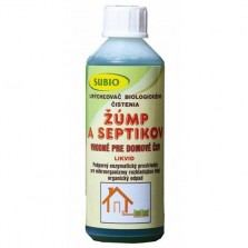 ŽUMPY A SEPTIKY - Urýchľovač biologického čistenia žúmp a septikov