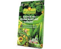 FLORIA/Substrát na palmy a zelené rastliny 20l