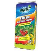 Substrát na paradajky, papriky, uhorky  40+5L