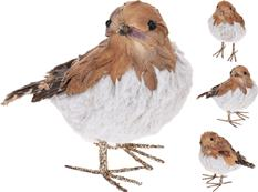 Vtáčik bielohnedý s kožušinkou / ZIM 260977