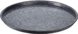 Podnos guľatý kovový / CR 228842