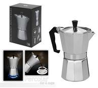 Prekapávač na kávu + 6 pohárov