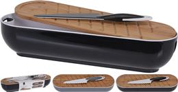 Dóza na bagetu s doskou s nožíkom / CR 246827