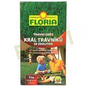 Trávna zmes Kráľ trávnikov 2kg + zeolit 800 g , FLORIA / F520/01