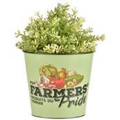 """Kvetináč zelený okrúhly """"Farmers pride"""" / FP006"""