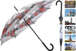 Dáždnik s potlačou miest / 490605