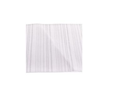 Obrus biely strieborné šitie / TX014